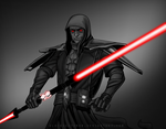 Commission: Sith by BlackDeathman