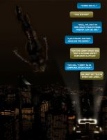 Skip Tracers Comic Book Page 1 by mthemordant