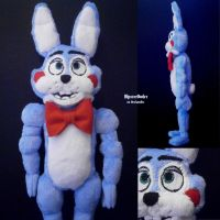 Handmade Toy Bonnie Plushie by HipsterOwlet