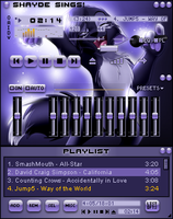 Shayde for Winamp by OctanBearcat