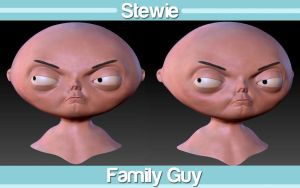 Stewie Griffin by snakes23