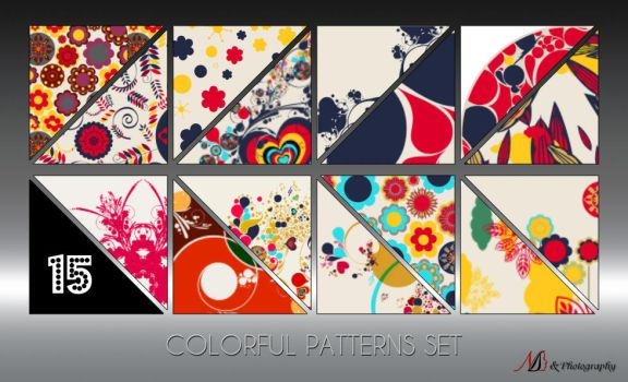 15 Colorful Patterns by noema-13