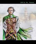 Sketch Ra's al Ghul by Nezotholem