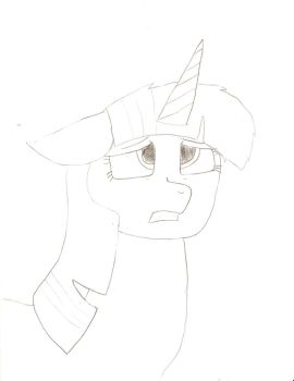 Twilight Sparkle not colored by alviniscute