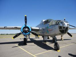 B-25 Mitchell Maid 2 by Pwesty
