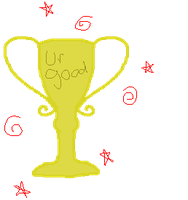 trophy 4 good person by Ink--Chan