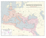 Roman Empire 4th Century: East and West by Kuusinen