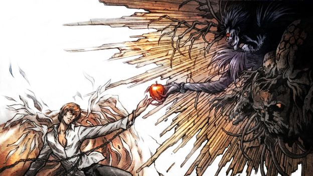 Deathnote 01 Recreation Color by RobDuenas