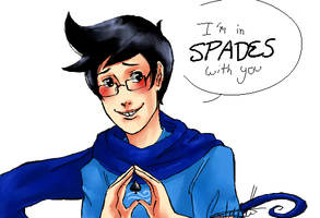 I'm in spades with you by uberchicken