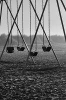 Empty Swings by KayeShepherd