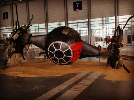 TIE Fighter Life size by Esspi