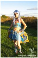 Cosplay of Meru the wingly by Kadajo