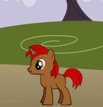 Red Blaze Flare Colt by Omnianimeman-brony
