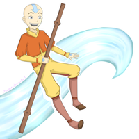 Aang is boss by Rhaylee