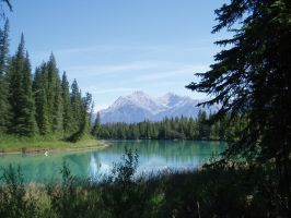The Turquoise Lake by HyperPinkFish