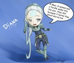 Diana The Scorn Of The Moon [Chibi] by Doujio