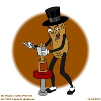 Mr Peanut making peanut butter by TheRealSneakers