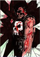 Punisher Sketch Card 1 by Sigint