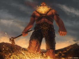 molten giant by kill-stereo