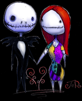 Jack and Sally by ye-oldy-jumpy-thing