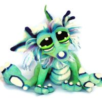 Island Punch Berry Dragon Pup by Tanglewood-Thicket