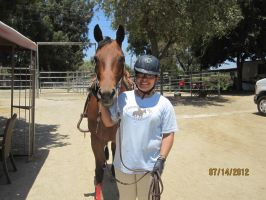Me and Gigi, New Horse! by ILoveCP