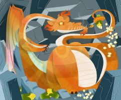 Fire Dragon Nest by Ztoical