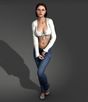 Amanda Jones - Variation on a Classic Outfit by Torqual3D
