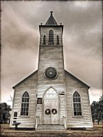 Acadian Church by Geaux