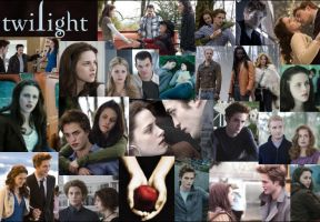 Twilight Photo Collage by Mistify24