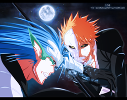 Ichigo vs Grimmjow by the103orjagrat