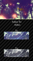 Ashes to Ashes Tag Wall by MF21