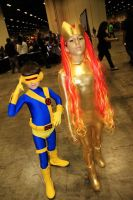 Cyclops And Nova By Danny Hunter by ComicChic19