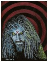 Rob Zombie - Sketch 2 by mikegee777