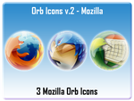 Orb Icons v.2 - Mozilla by AndrewBadger