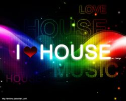 I Love House by amiLOnZ