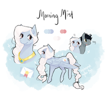 MLP OC ~ Morning Mist by nychnymph