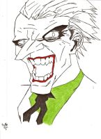 The Joker W.I.P. by Dark--Magician