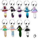 Outfit Adopts 13 *Closed* by Canaddicted