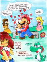 Mario: For The Love Of Toad? by NatSilva