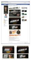 SKY Match Fit Promotion Facebook Landing Page by tmgtheperson