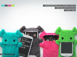 Fellfische Cases For Samsung Galaxy S2 + S3 by IYU-IYU