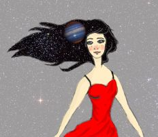 Drops of Jupiter in her hair... by Thehighwaygirl