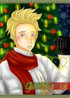 APH - DenDen in Christmas by ByOkinuChan