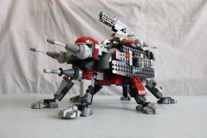 All Terrain Tactical Enforcer (AT-TE) by ejaylee