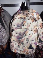Kitten Collage BackPack at Hot Topic by KrazyKari