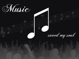 Music saved my Soul by theShad0w