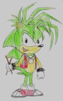 :Manic the Hedgehog: by SonicFan3