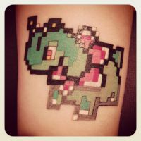 My Meganium Tattoo by Emisaurx382