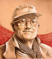 David Hockney by MyStarkey